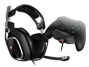 Audífonos con micrófono A40TR + MixAmp M80