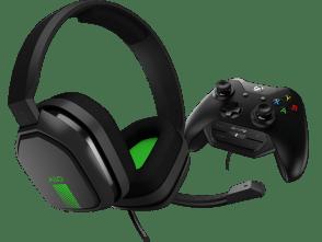 A10 Headset + MixAmp M60 | Gris/Vert Xbox