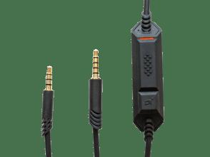Câble mobile 1,0 m pour A40 | Noir