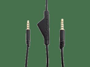 Câble A40 TR de 2,0 m avec sourdine intégrée | Noir