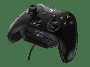 MixAmp M60 | Profitez d'une intégration audio parfaite à la Xbox One avec le MixAmp M60. Réglé pour le jeu avec ASTRO Audio, le MixAmp M60 vous permet d'ajuster l'équilibre Jeu:Voix et d'activer le mode silence directement sur la manette. Associé à un casque A10 ou A40TR, il vous assure le contrôle total de l'expérience sonore.