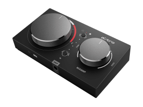MixAmp Pro TR | The MixAmp Pro TR features Dolby Audio™ processing for lag-free audio. Simple controls allow for quick adjustment of Game:Voice Balance, mixing between game audio and voice chat. Select one of four customizable EQ Modes, and adjust Master Volume all at your fingertips. The free ASTRO Command Center software allows gamers to tune every input and output parameter of their gaming audio experience.