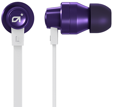 A03 In-Ear monitor White/Purple