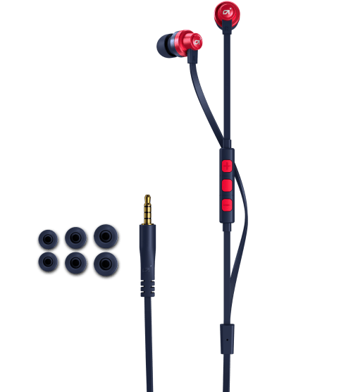 A03 In-Ear Monitor Blau/Rot