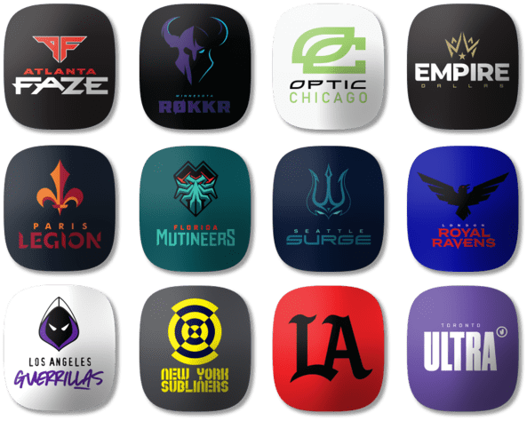Tags d'équipe Call of Duty League™