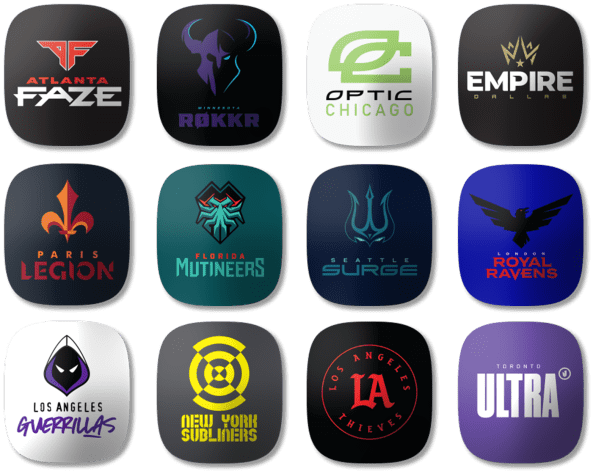 Call of Duty League™ Team Tags
