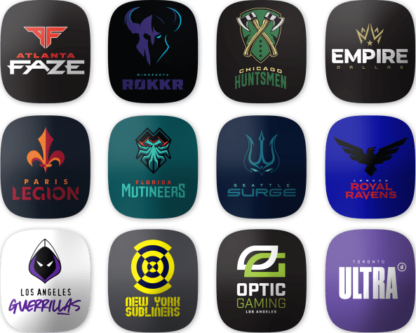 Call of Duty League Tags