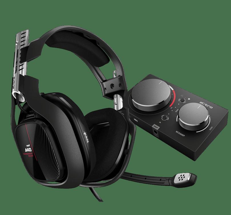 Audífonos con micrófono A40 TR con MixAmp Pro TR
